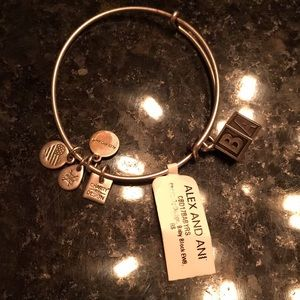 "Alex and Ani ""Baby Block"" bracelet"